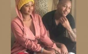 Brilliant Khuzwayo and Babes Wodumo