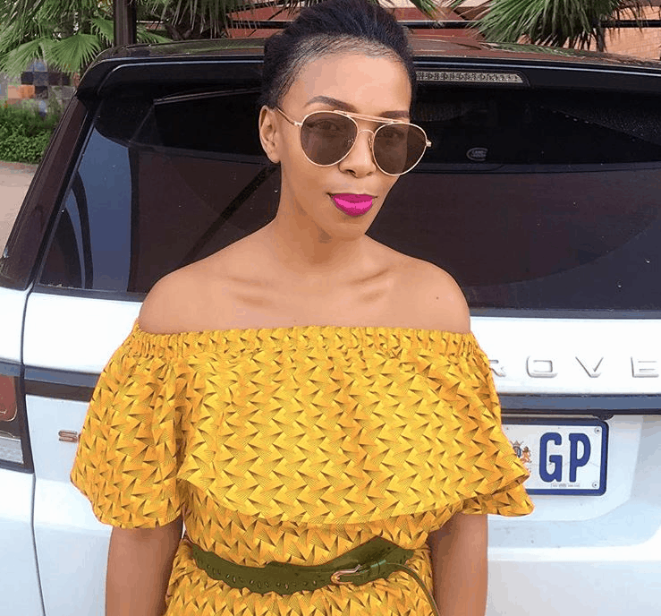 South Africa women celebrities who are driving Range Rovers