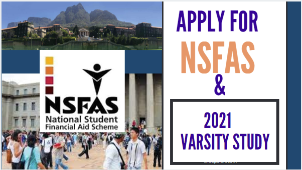 Apply Now for University and NSFAS in South Africa